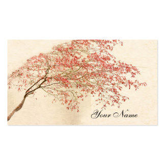 Japanese Maple Pack Of Standard Business Cards