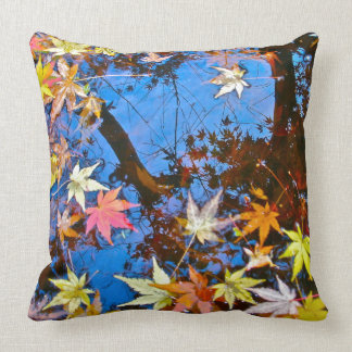 Japanese Maple Reflections Pillow