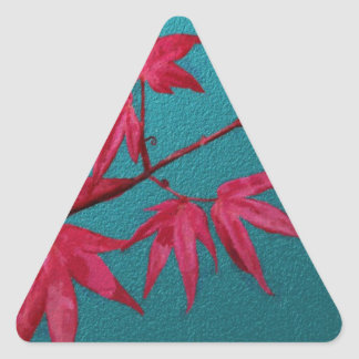 Japanese Maple Triangle Sticker