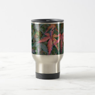 Japanese Maples Leaves in Fall - Photograph Mugs