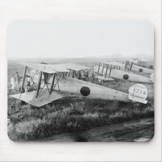 Japanese Military Biplanes, 1910s Mouse Pad