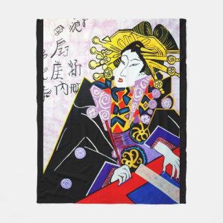 JAPANESE   MING SUE FLEECE BLANKET
