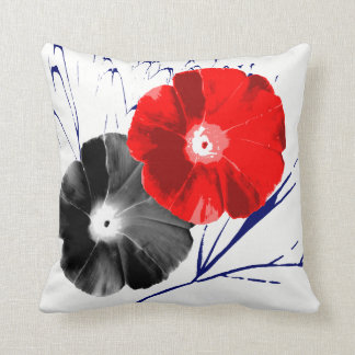 Japanese Morning Glory Cushion