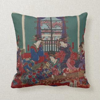 Japanese Musicians Throw Cushion