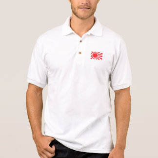 Japanese Navy Flag Polo Shirt