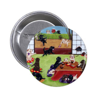 Japanese New Year s Day Labradors Pin