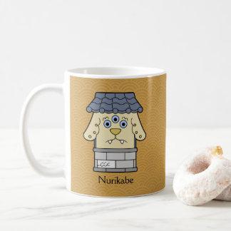 Japanese Nurikabe Wall Monster: Cartoon Youkai Coffee Mug
