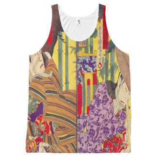 japanese opera poster All-Over print tank top