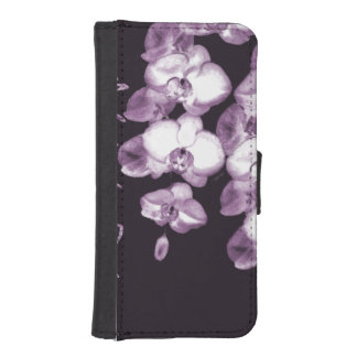Japanese Orchids 15 iPhone SE/5/5s Wallet Case