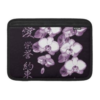 Japanese Orchids 15 MacBook Sleeve