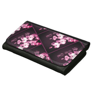 Japanese Orchids Wallet For Women