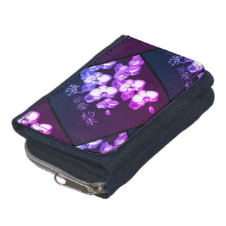 Japanese Orchids Wallets