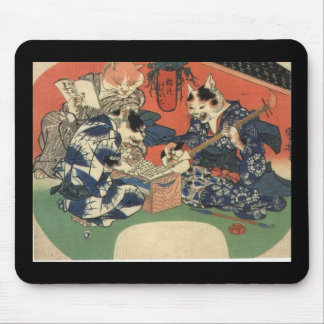 Japanese Painting c 1800 s Mousepad