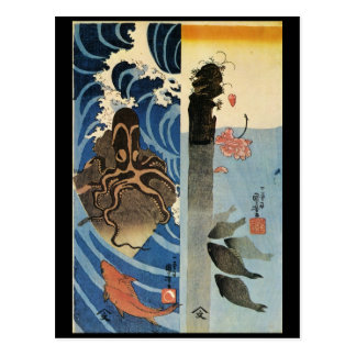 Japanese Painting c 1800 s Post Cards