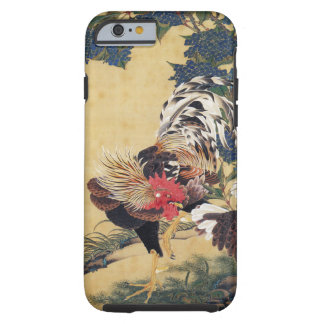 Japanese painting Rooster Chinese Astrology Sign Tough iPhone 6 Case