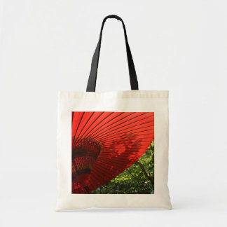 Japanese Parasol Budget Tote Bag