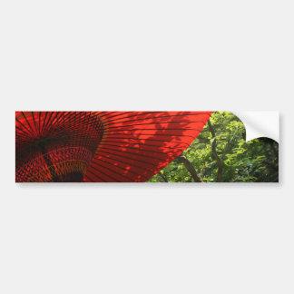 Japanese Parasol Bumper Sticker