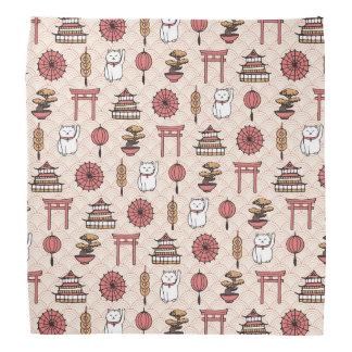 Japanese Pattern Bandana