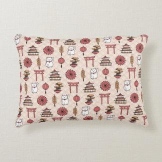Japanese Pattern Decorative Cushion