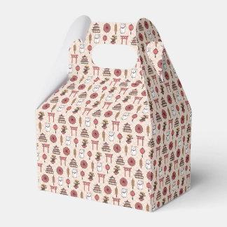 Japanese Pattern Favour Box