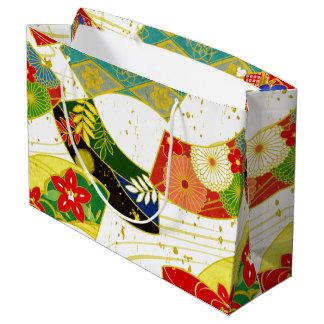 japanese pattern gift bag