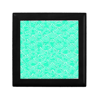 Japanese Pattern in Green Gift Box
