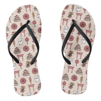 Japanese Pattern Thongs