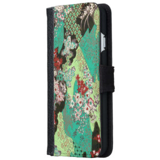 Japanese patterns iPhone 6 wallet case