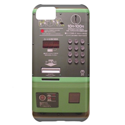 Japanese Payphone iPhone 5C Cases