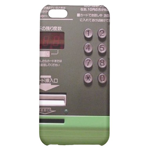 Japanese Payphone Case For iPhone 5C