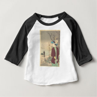 Japanese Polychrome woodblock print Baby T-Shirt