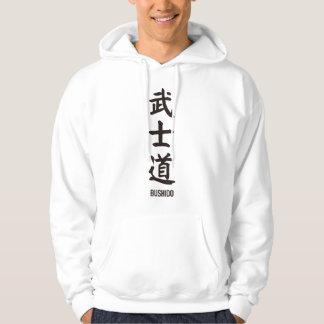 """Japanese popular kanji """"BUSHIDO"""" Hoodie"""