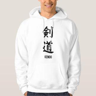 "Japanese popular kanji ""KENDO"" Hoodie"