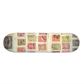 Japanese Postage 19.7 Cm Skateboard Deck