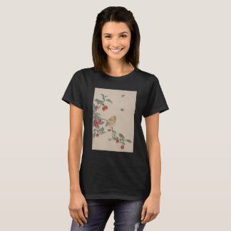 Japanese print - Bird and Marigold T-Shirt