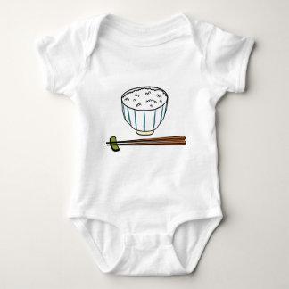 Japanese Rice Bowl Baby Bodysuit