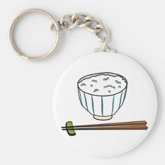 Japanese Rice Bowl Key Ring