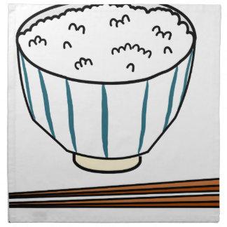 Japanese Rice Bowl Napkin
