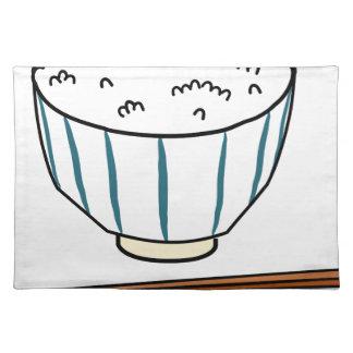 Japanese Rice Bowl Placemat
