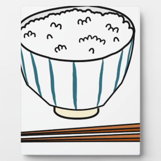 Japanese Rice Bowl Plaque