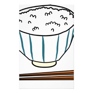 Japanese Rice Bowl Stationery