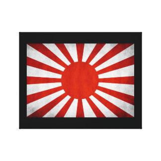 Japanese Rising Sun Flag Canvas Prints