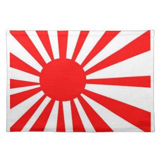 Japanese Rising Sun Flag Placemat