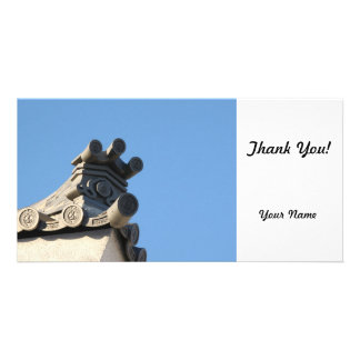 Japanese Rooftop Photo Card Template