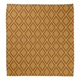 Japanese Rosette Lozenges Pattern Kerchief