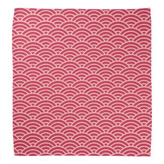 Japanese Sakura Fish Scale Pattern Kerchief