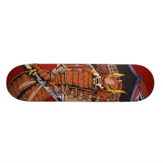 Japanese Samurai  Skateboard Deck
