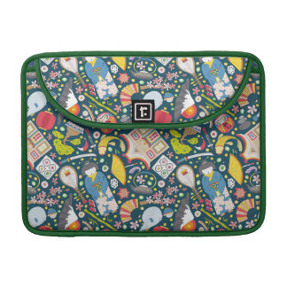 Japanese Seamless Pattern Sleeve For MacBook Pro