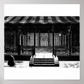 Japanese Shrine Poster