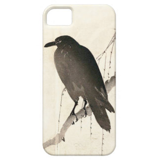 Japanese sketch of a raven iPhone 5 case